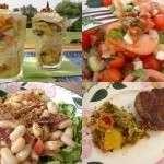 Ebly-Salat mit geräucherter Forelle