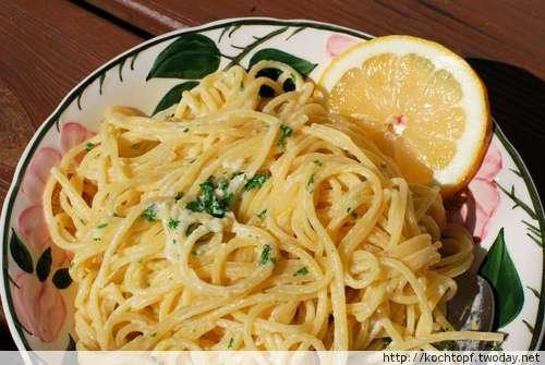 Spaghetti al Limone - Zitronenspaghetti