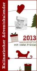 Kulinarischer Adventskalender 2013 – nur noch 6x schlafen!