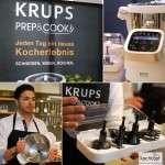 Schneiden, Mixen, Kochen mit der Prep&Cook beim Krups Koch Camp in München plus Rezept für Auberginenkaviar