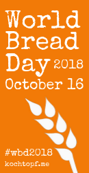 World Bread Day 2018, October 16