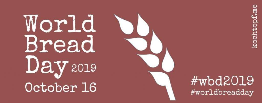 World Bread Day 2019 - Einladung / Invitation
