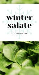 Blog-Event CLXI - Wintersalate (Einsendeschluss 15. März 2020)