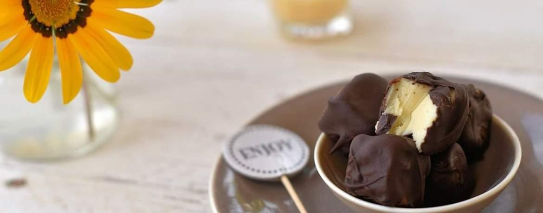 Knackige & weiche Eierlikör-Pralinen – für jeden Geschmack!